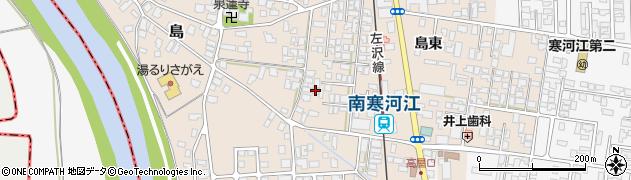 山形県寒河江市島37周辺の地図