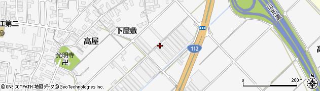 山形県寒河江市高屋台下1439周辺の地図