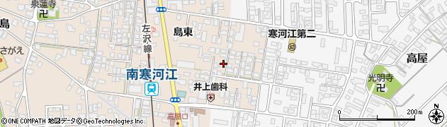 山形県寒河江市島212周辺の地図