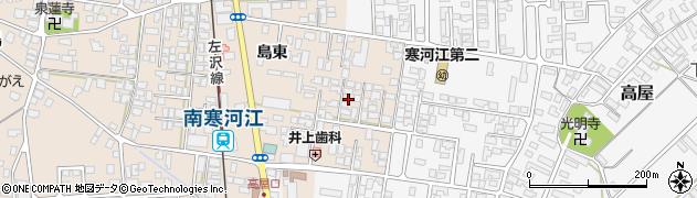 山形県寒河江市島210周辺の地図