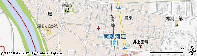 山形県寒河江市島31周辺の地図
