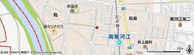 山形県寒河江市島281周辺の地図