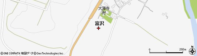 山形県西村山郡大江町富沢156周辺の地図