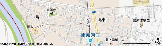 山形県寒河江市島15-3周辺の地図