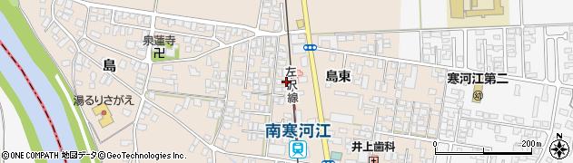 山形県寒河江市島12周辺の地図