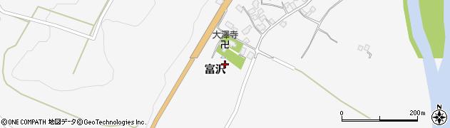 山形県西村山郡大江町富沢144周辺の地図