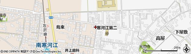 山形県寒河江市島203-2周辺の地図