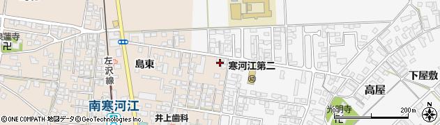 山形県寒河江市島202周辺の地図