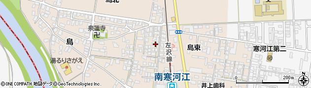 山形県寒河江市島15-5周辺の地図