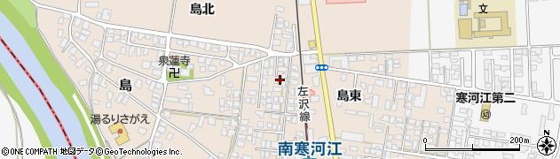 山形県寒河江市島4周辺の地図
