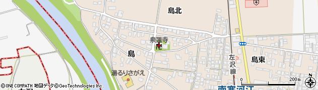 泉蓮寺周辺の地図