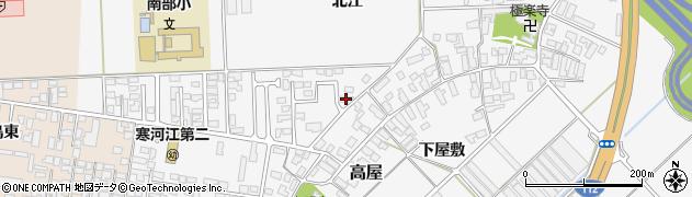 山形県寒河江市高屋227周辺の地図