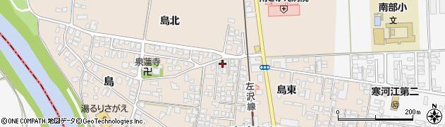 山形県寒河江市島5周辺の地図