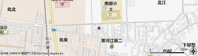 山形県寒河江市高屋北江16周辺の地図