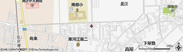 山形県寒河江市高屋北江27周辺の地図
