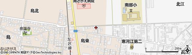 山形県寒河江市島114周辺の地図