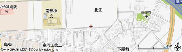 山形県寒河江市高屋北江49周辺の地図