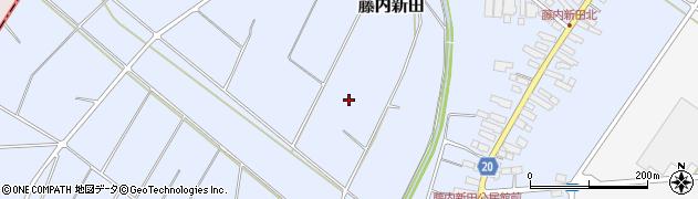 山形県天童市藤内新田周辺の地図
