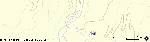 山形県西村山郡大江町小清45周辺の地図