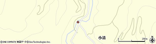 山形県西村山郡大江町小清107周辺の地図