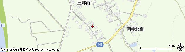 山形県西村山郡大江町三郷丙645周辺の地図