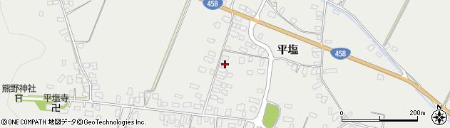 山形県寒河江市平塩305周辺の地図