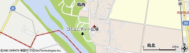 山形県寒河江市島24周辺の地図
