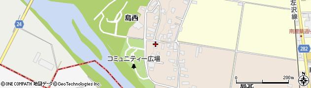 山形県寒河江市島40周辺の地図