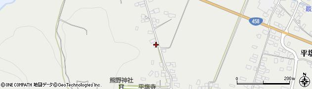 山形県寒河江市平塩13周辺の地図