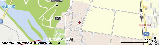 山形県寒河江市島49周辺の地図