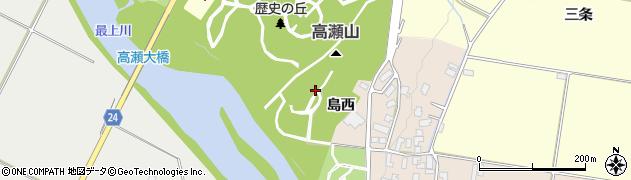 山形県寒河江市島1022周辺の地図