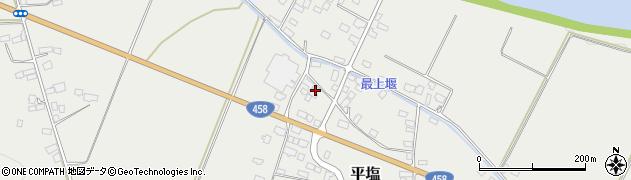 山形県寒河江市平塩294周辺の地図