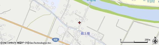 山形県寒河江市平塩286周辺の地図