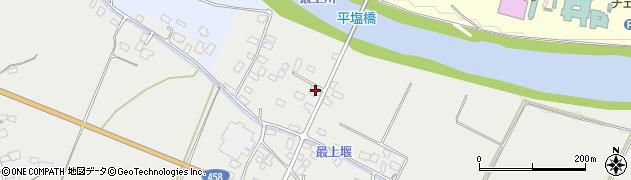 山形県寒河江市平塩287周辺の地図