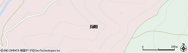 山形県西村山郡大江町柳川長畑周辺の地図