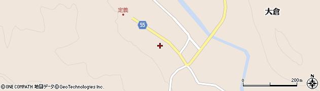 宮城県仙台市青葉区大倉(下道)周辺の地図