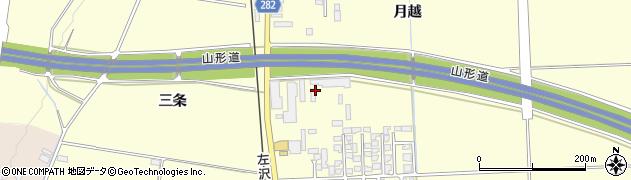山形県寒河江市寒河江古河江4周辺の地図