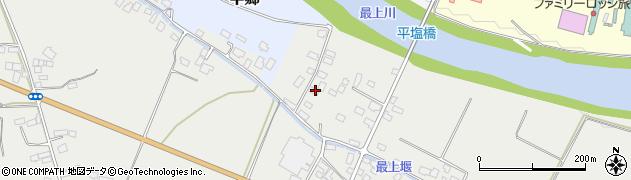 山形県寒河江市平塩269周辺の地図