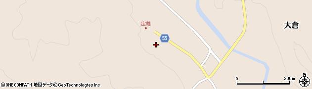 宮城県仙台市青葉区大倉(上下)周辺の地図