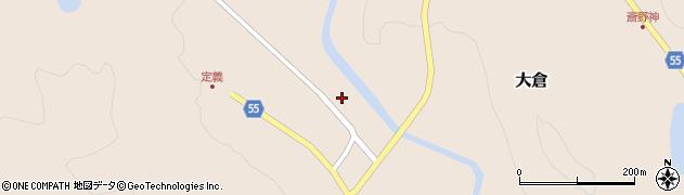 宮城県仙台市青葉区大倉(久保)周辺の地図