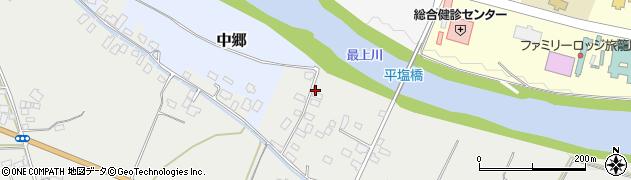 山形県寒河江市平塩274周辺の地図