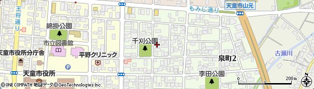 能成寺周辺の地図