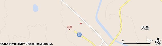 宮城県仙台市青葉区大倉(上下山神)周辺の地図