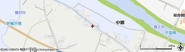 山形県寒河江市平塩149周辺の地図