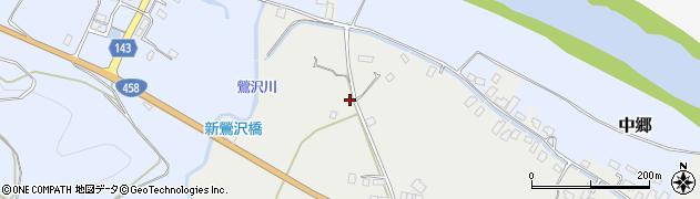 山形県寒河江市平塩71周辺の地図