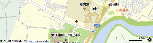 山形県西村山郡大江町藤田816周辺の地図