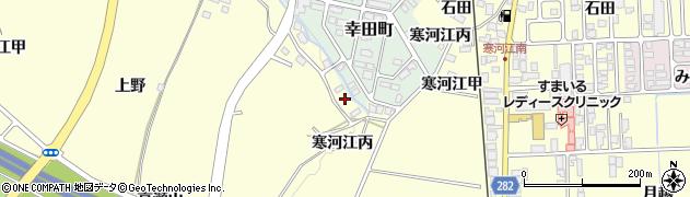 山形県寒河江市寒河江甲1148周辺の地図