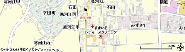 山形県寒河江市寒河江石田47周辺の地図