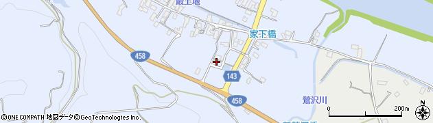 山形県寒河江市中郷449周辺の地図