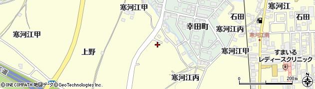 山形県寒河江市寒河江乙978周辺の地図